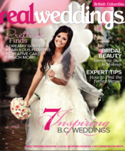 Real Weddings Magazine Cover